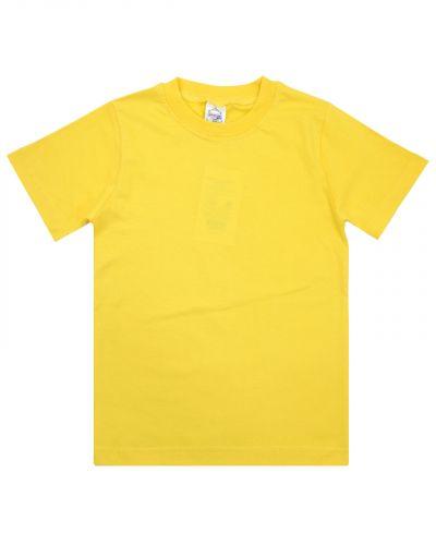 Однотонная Футболка для детей 4-8 лет Bonito BK165F желтая