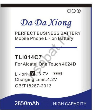 Аккумулятор TLi014C7 2850 мАч Япония
