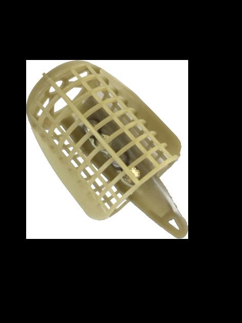 Круглая фидерная кормушка пластик 50 г