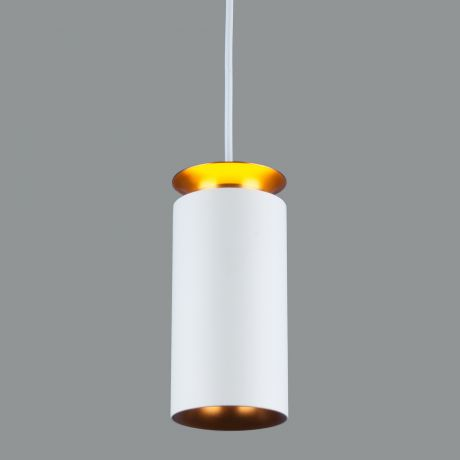 Подвесной светодиодный светильник DLS021 9+4W 4200К белый матовый/золото