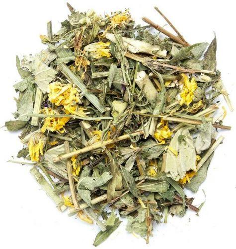 Монастырский травяной чай с цветами липы