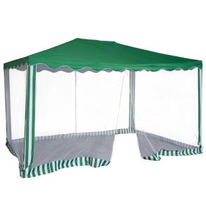 Тент шатер садовый Green Glade 1088 3х4х2,5м (полиэстер)