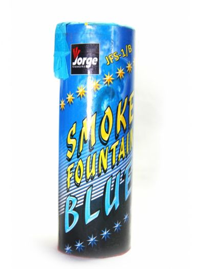 Цветной дым для фотосессии 40 сек. СИНИЙ