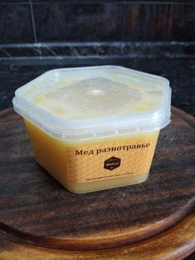 Мед разнотравье, 450г
