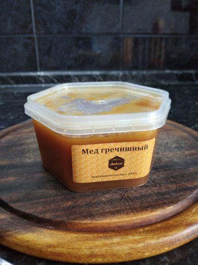 Мед гречишный, 450г
