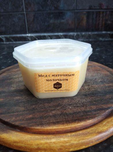 Мед с маточным молочком, 450г
