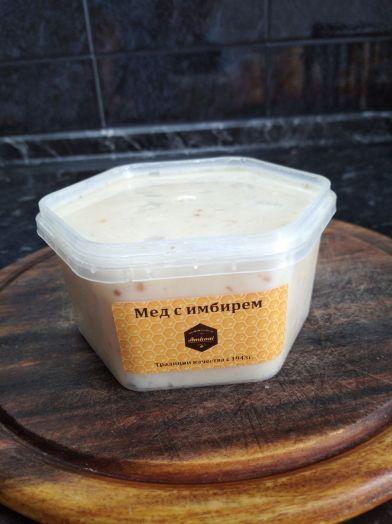 Крем-мед с имбирём, 450 г
