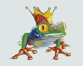 Картина по номерам «Царевна-лягушка» 20x30 см