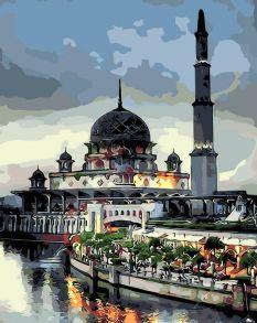 Картина по номерам «Мечеть» 40x50 см