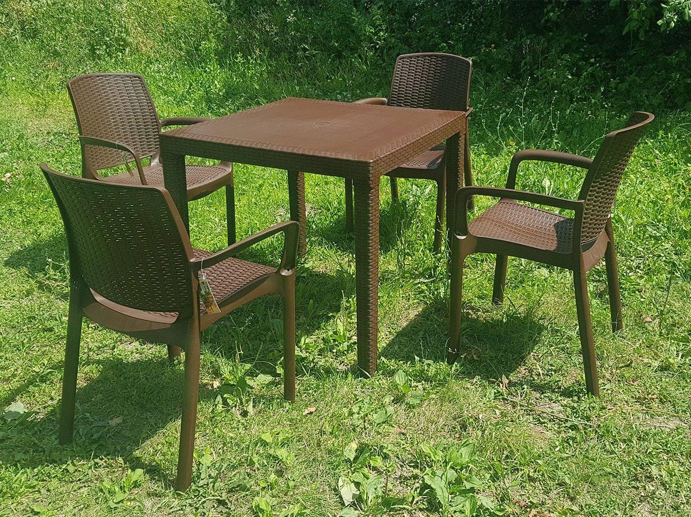 Набор мебели Родос 4 кресла