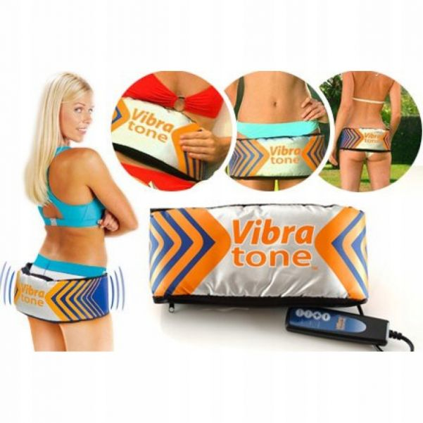 Вибромассажный Пояс Для Похудения Вибротон (Vibra Tone)