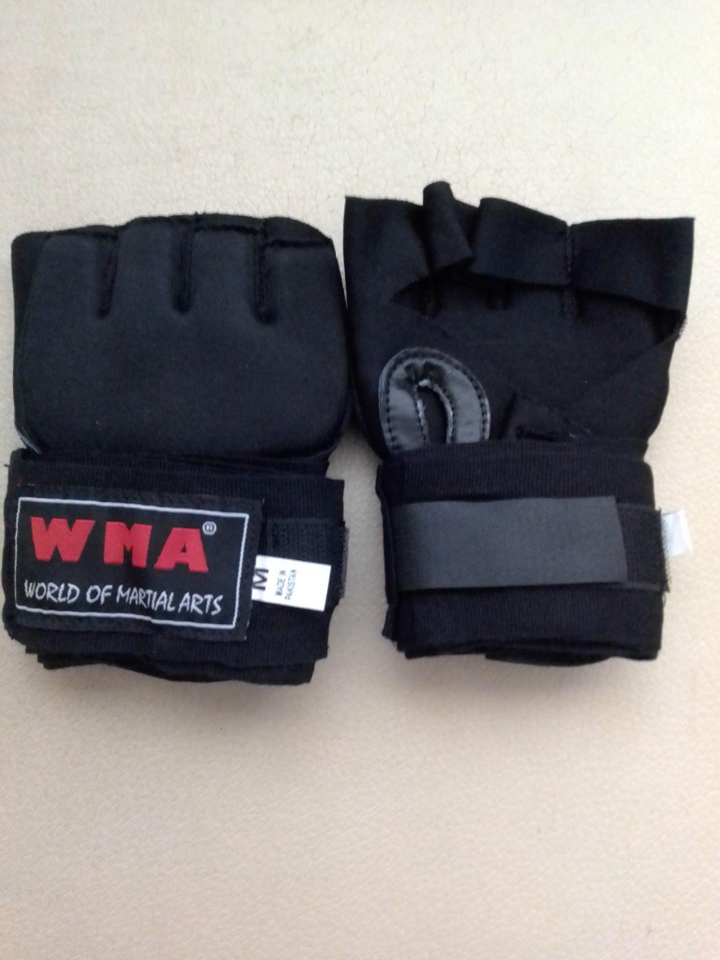 Перчатки, защита кисти с бинтом для единоборств HWG-RB, размер М