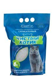 """Наполнитель силикагелевый для кошек """"Чистый котик"""""""