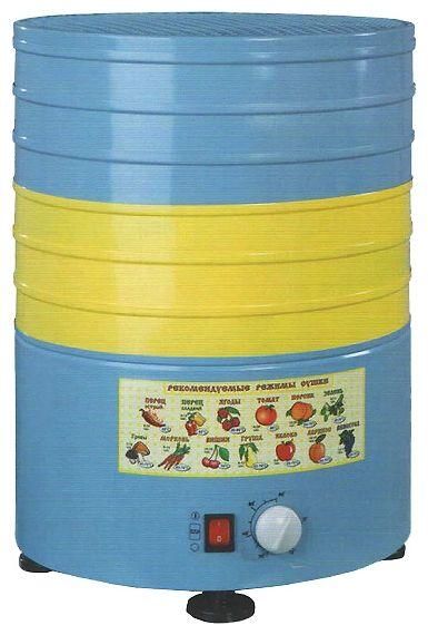Сушилка для овощей и фруктов ЭЛВИН СУ-1 синий/желтый (30 литров)