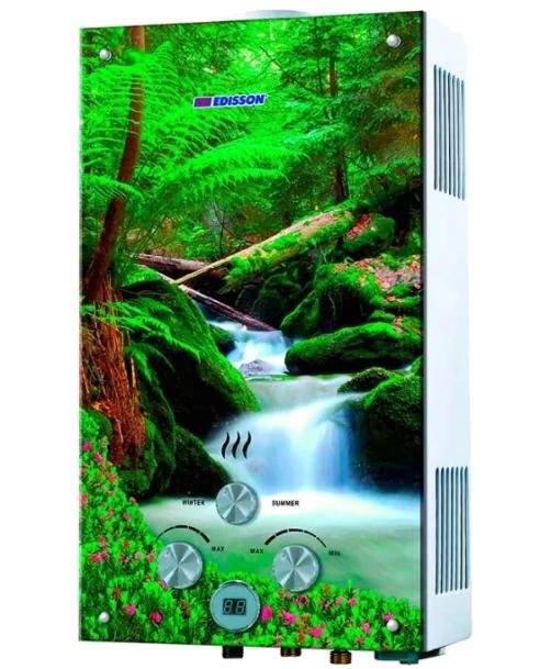 Проточный газовый водонагреватель EDISSON F 20 GD (Лес)