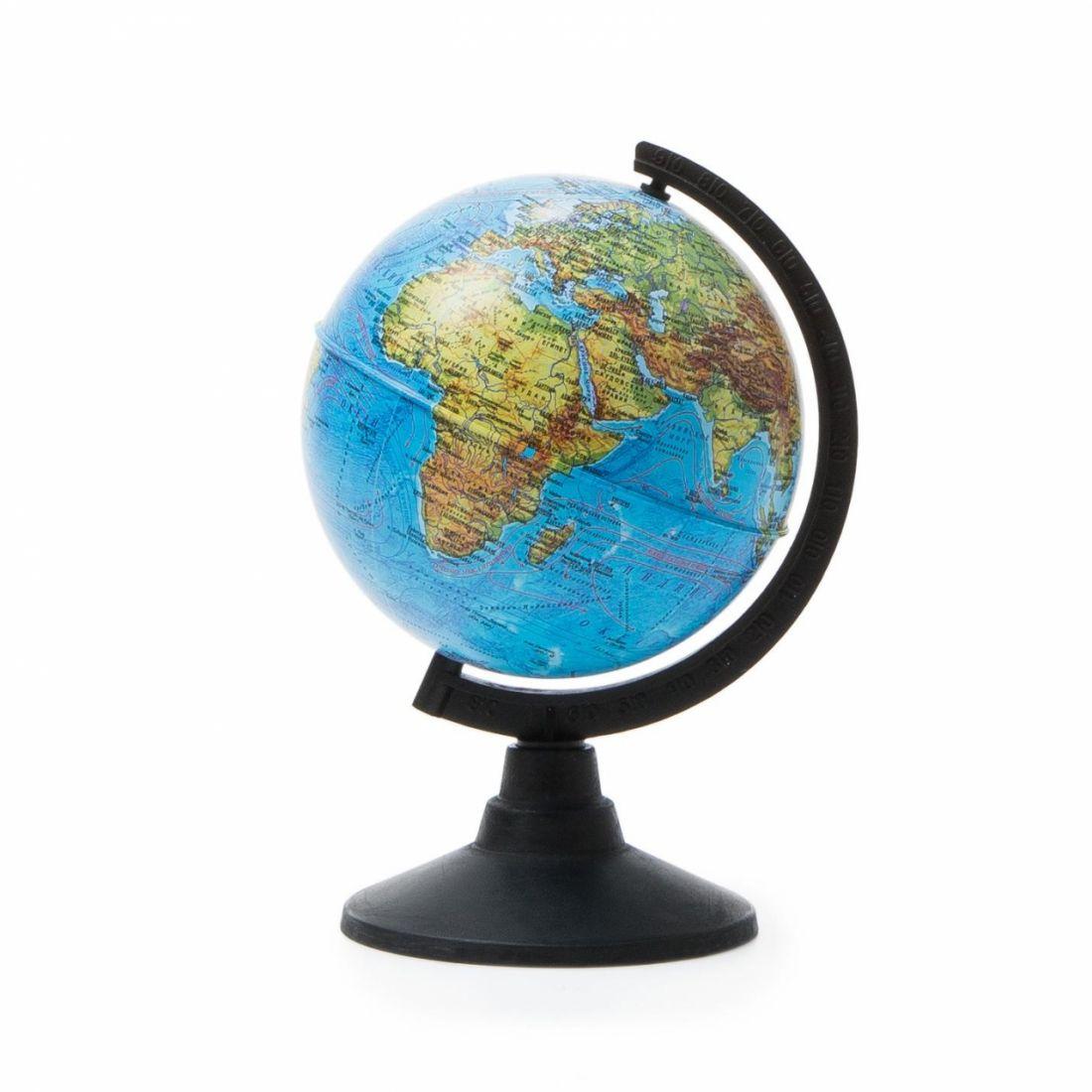 Глобус GLOBEN К011200001 Физический 120 мм Классик