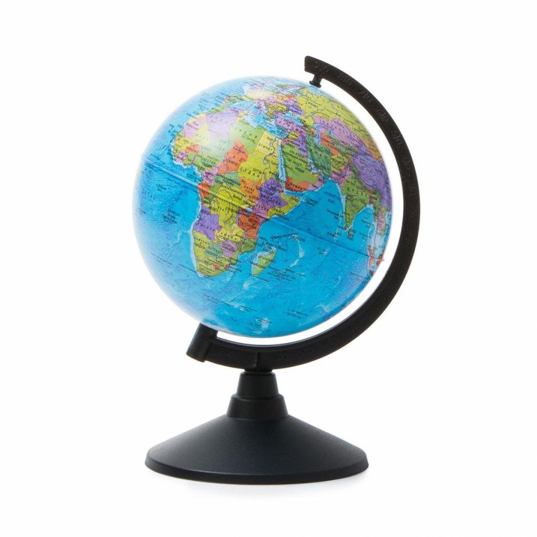 Глобус GLOBEN К011200002 Политический 120мм Классик