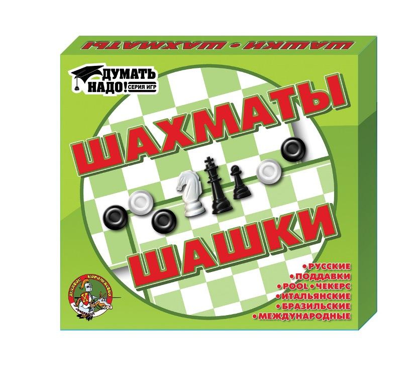Настольная игра ДЕСЯТОЕ КОРОЛЕВСТВО 01450 Шашки, шахматы