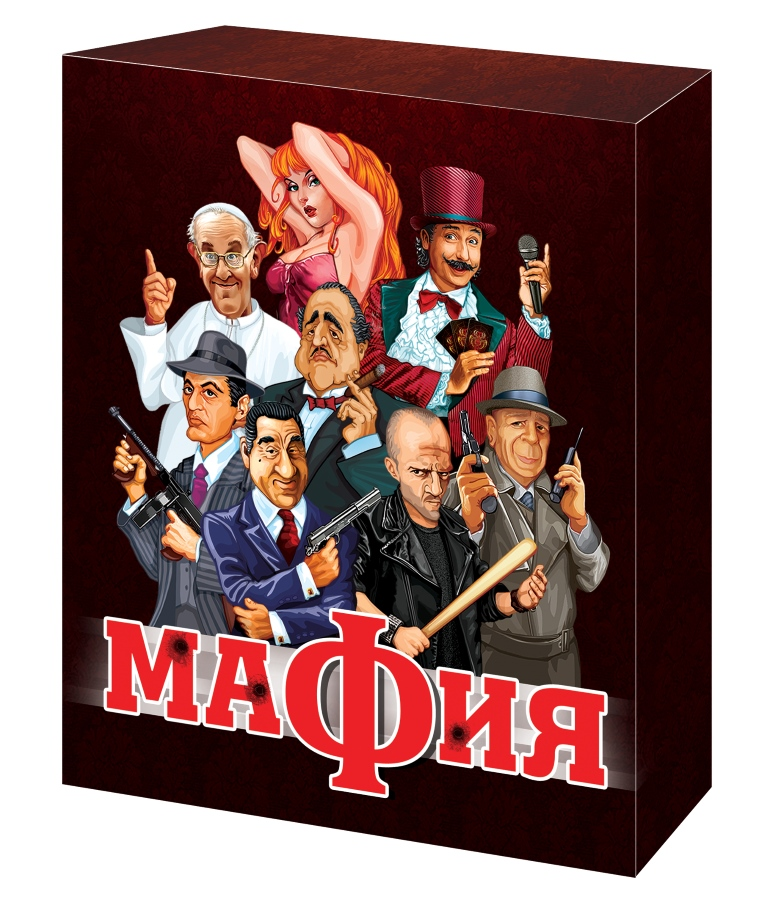 Настольная игра ДЕСЯТОЕ КОРОЛЕВСТВО 01895 Мафия