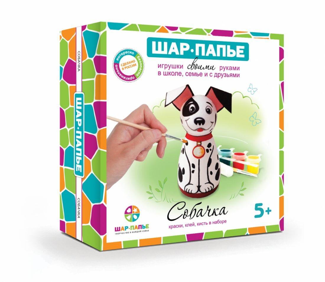 Набор для творчества ШАР-ПАПЬЕ В01931Т Собачка