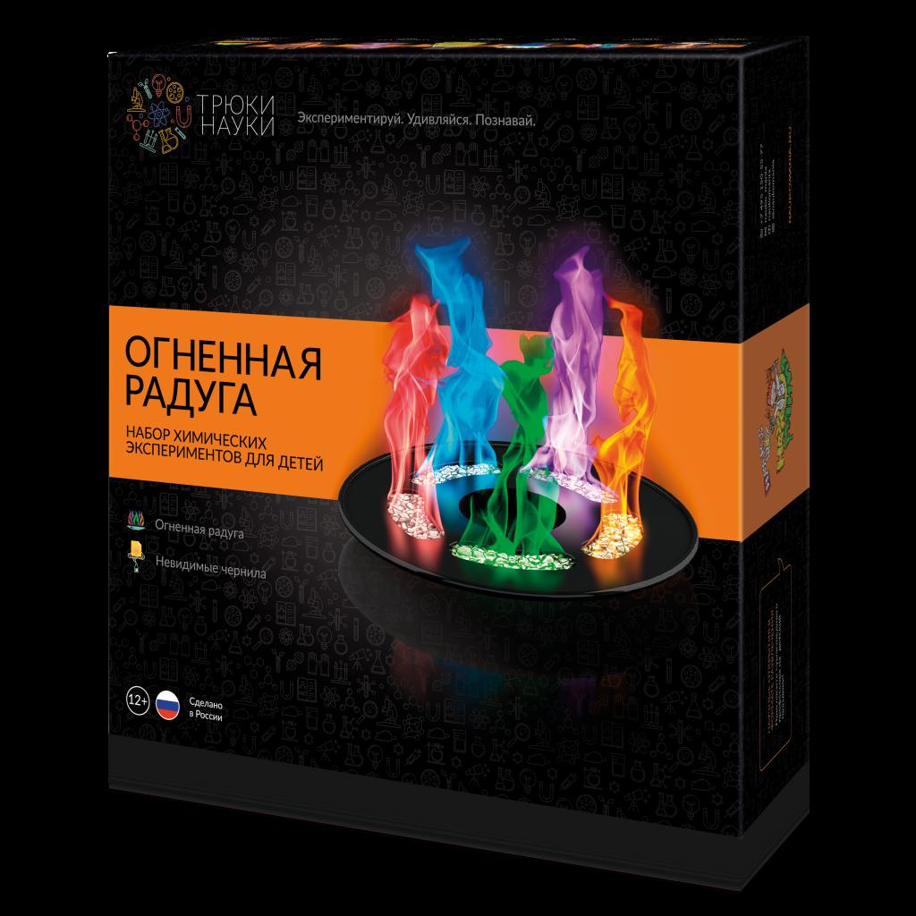 Набор для опытов ТРЮКИ НАУКИ Z002 Огненная радуга