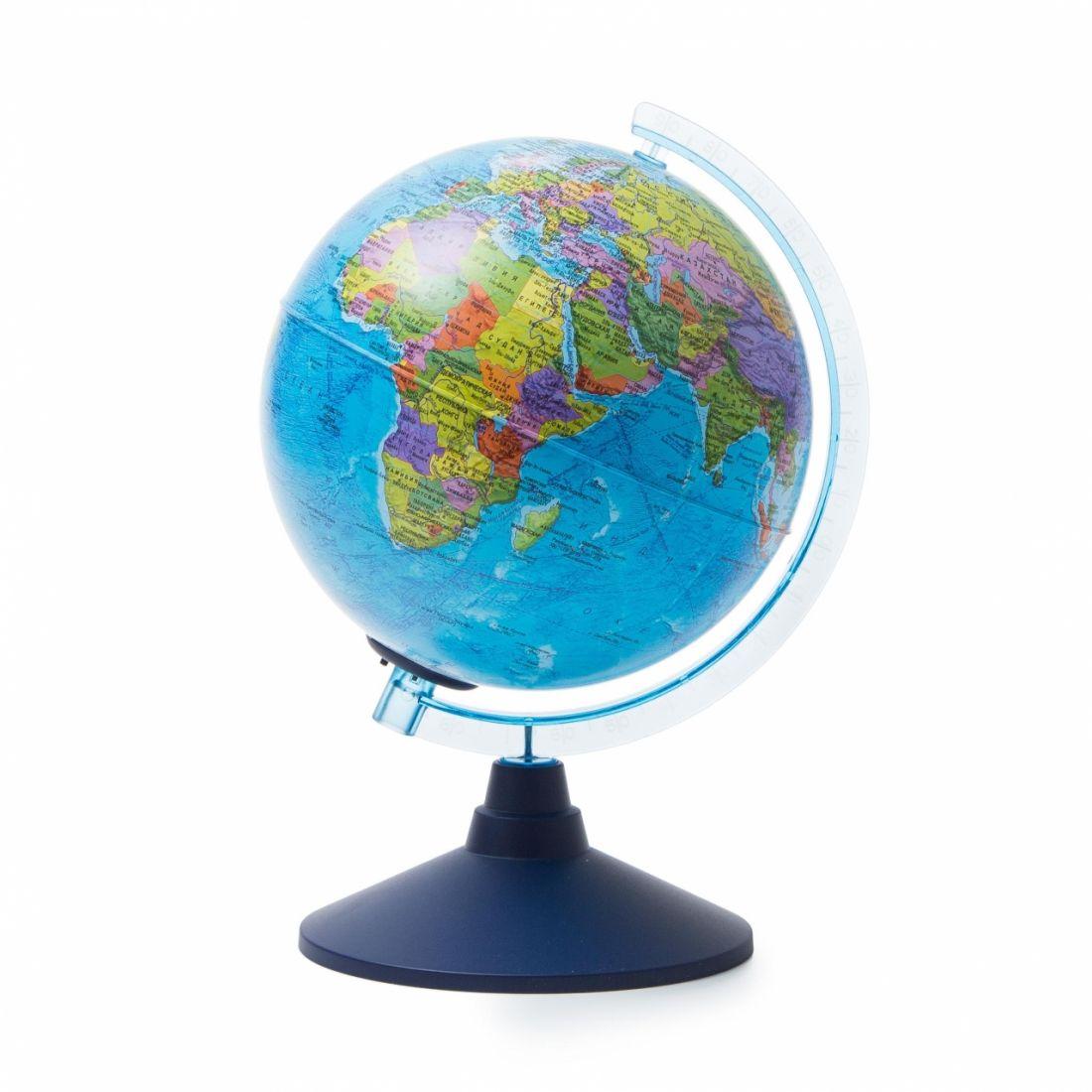Глобус GLOBEN Ве012100248 Политический (батарейки) 210 Классик Евро