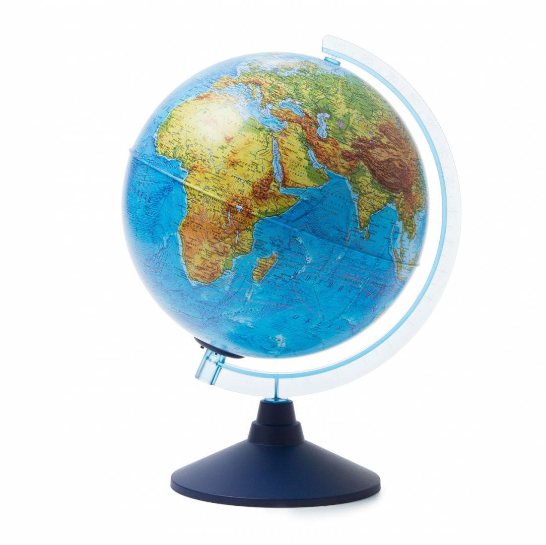Глобус GLOBEN Ве012500257 Физико-политический (батарейки) 250 Классик Евро