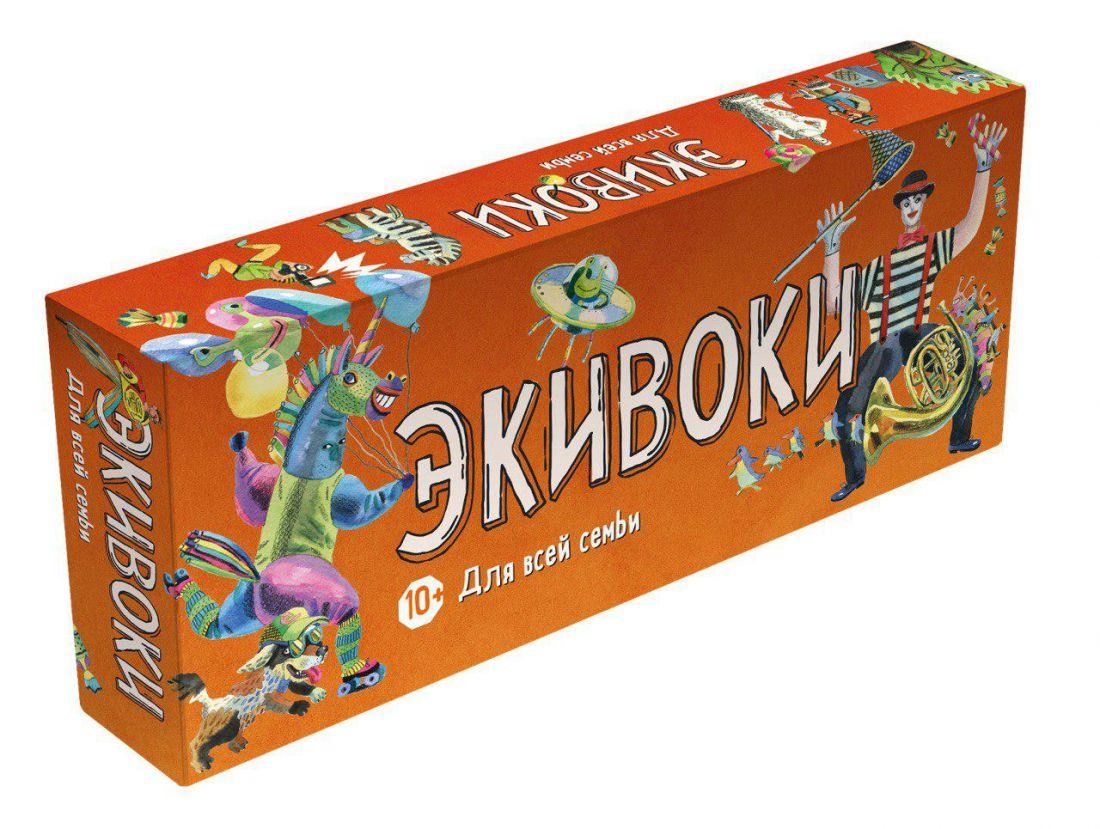 Настольная игра ЭКИВОКИ 21265 Для всей семьи