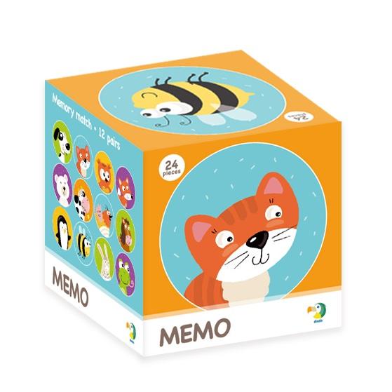 Настольная игра DODO 300145 Мемори животные
