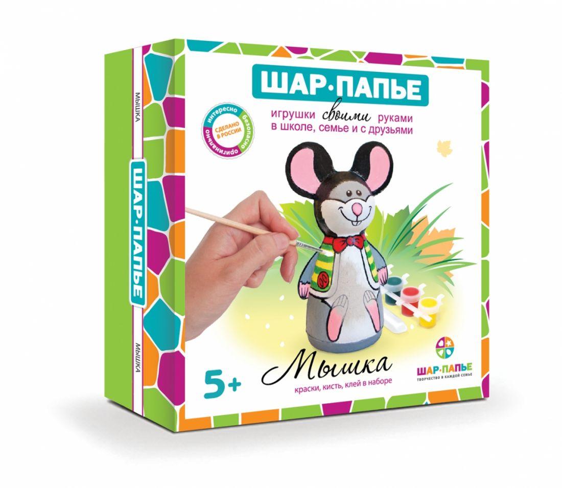 Набор для творчества ШАР-ПАПЬЕ В011131Т Мышка