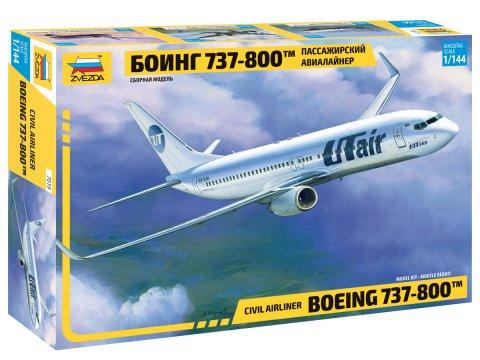 Сборная модель ZVEZDA 7019 Боинг 737-800
