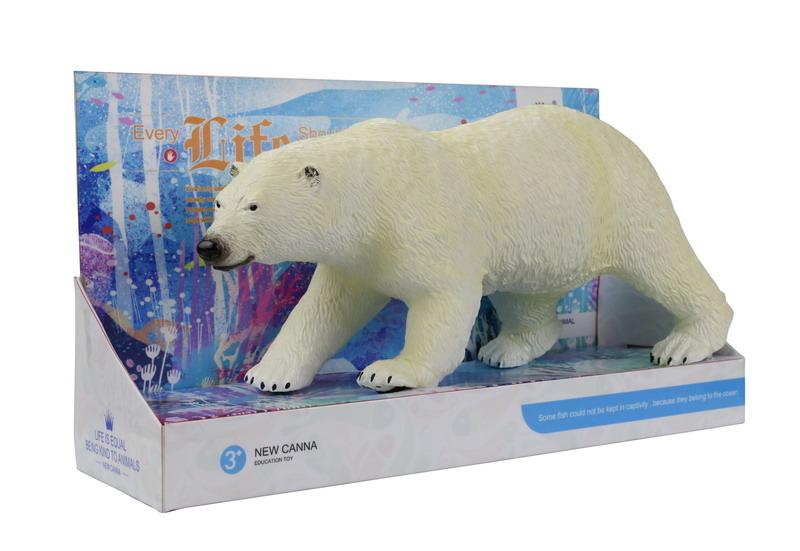 Фигурка NEW CANNA Х131 Белый медведь