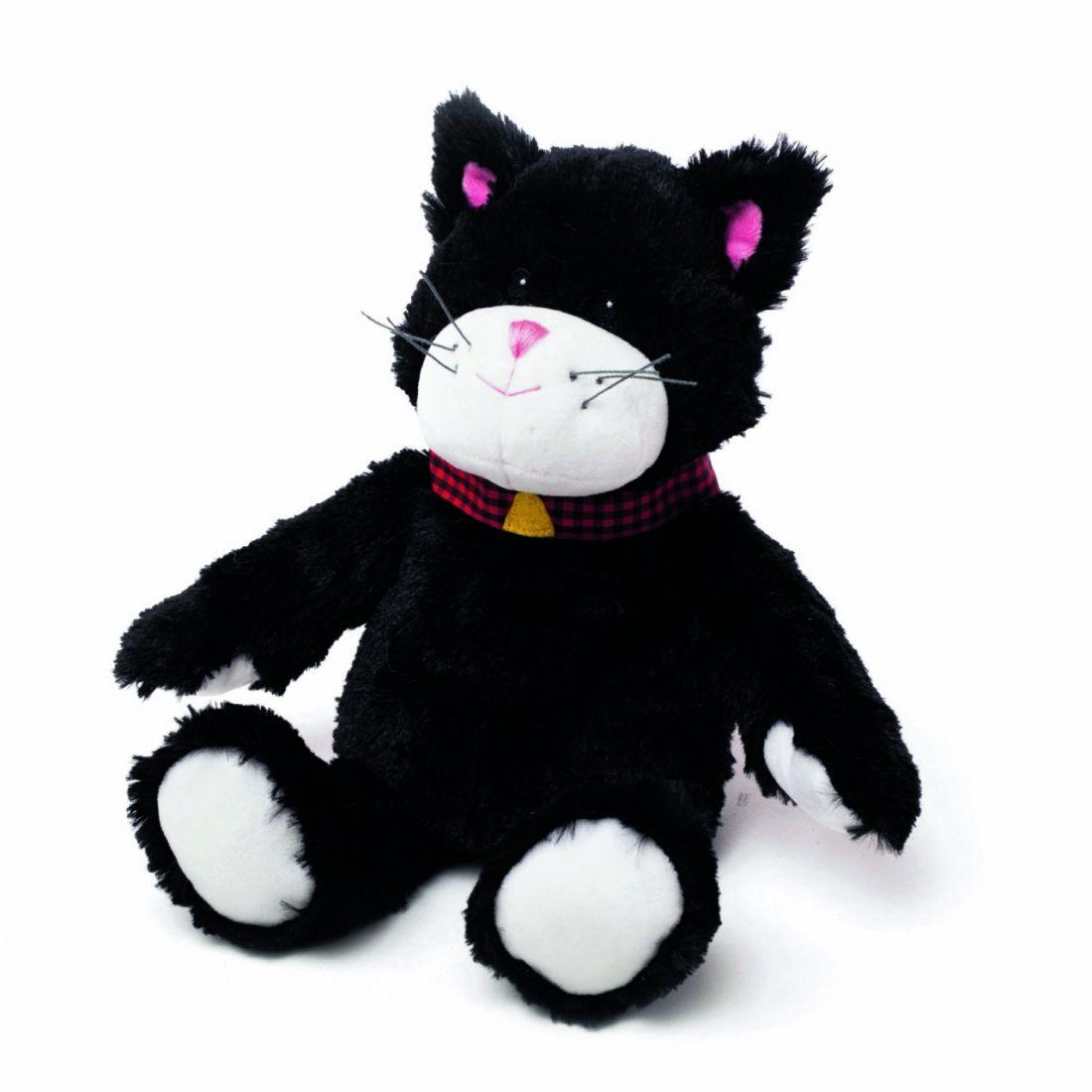 Игрушка грелка WARMIES CP-CAT-11 Черный Кот