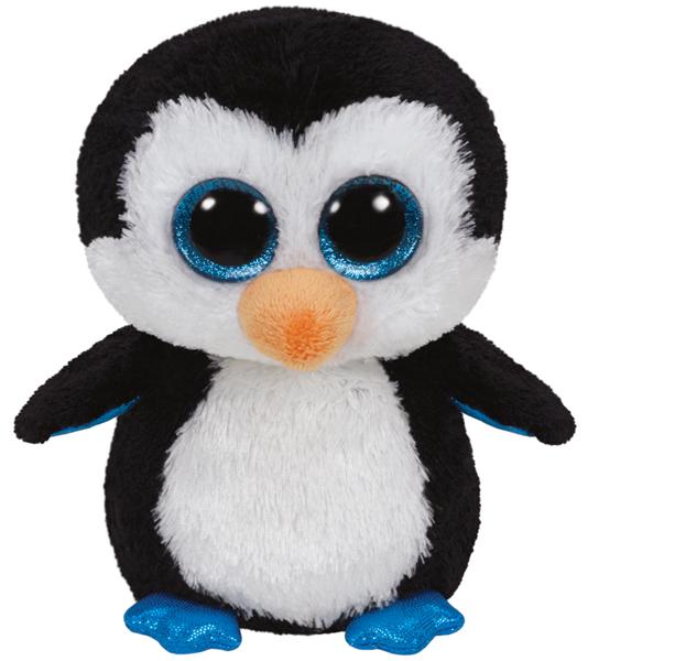 Мягкая игрушка TY 36008 пингвин Водлз 15 см