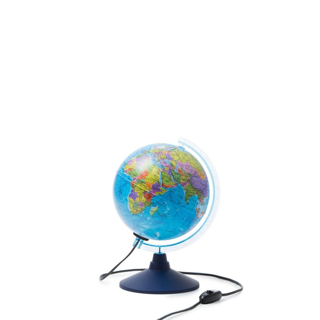 Глобус GLOBEN INT12100294 Земли интерактивный политический с подсветкой 210мм с очками VR