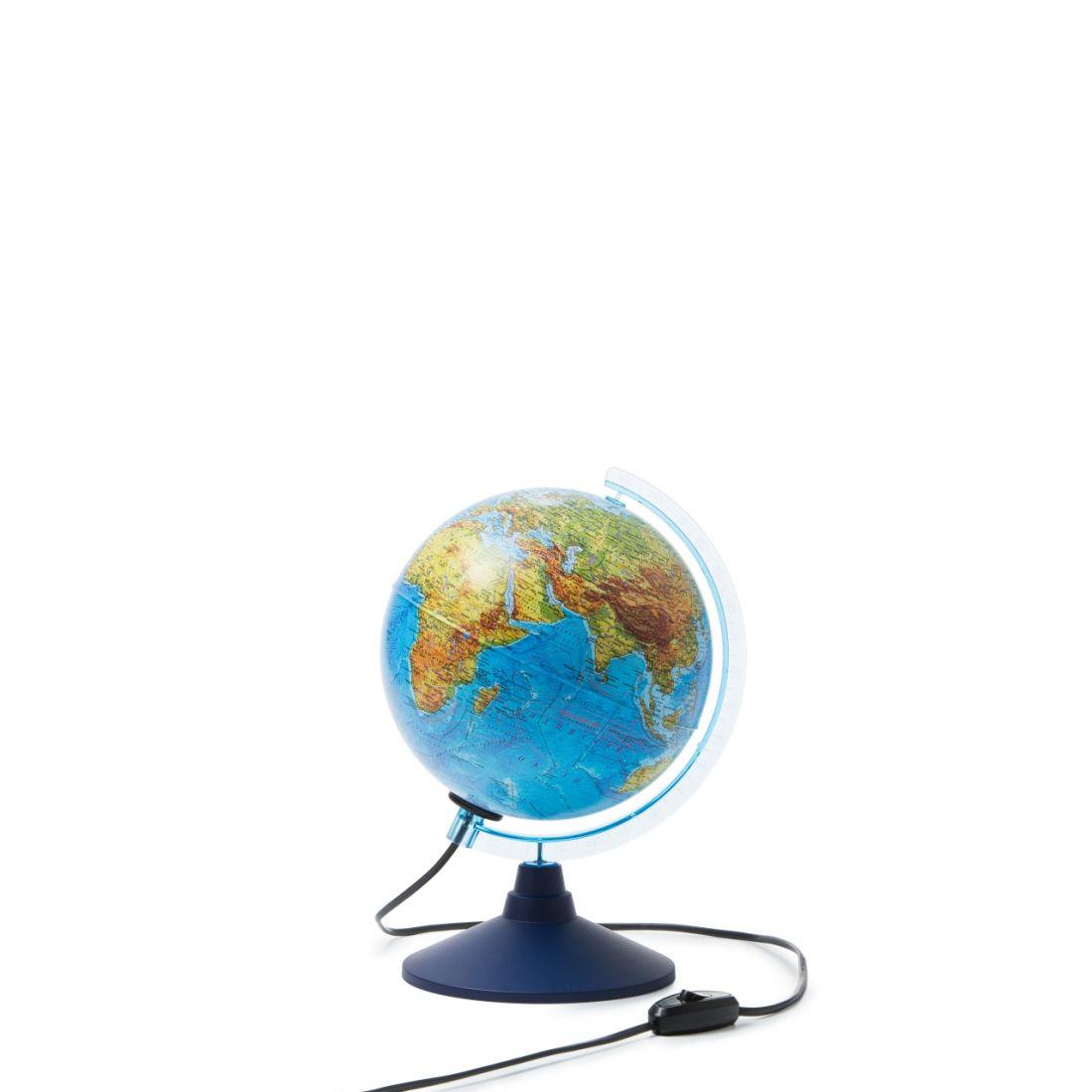 Глобус GLOBEN INT12100298 Земли интерактивный физико-политический с подсветкой 210мм с очками VR