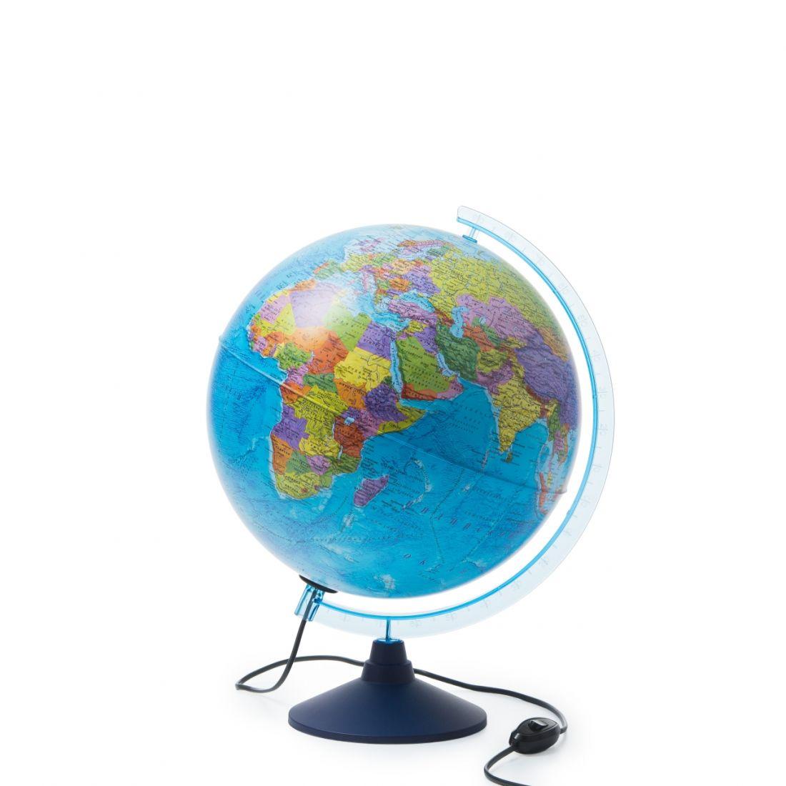 Глобус GLOBEN INT13200312 Земли интерактивный политический с подсветкой 320мм с очками VR