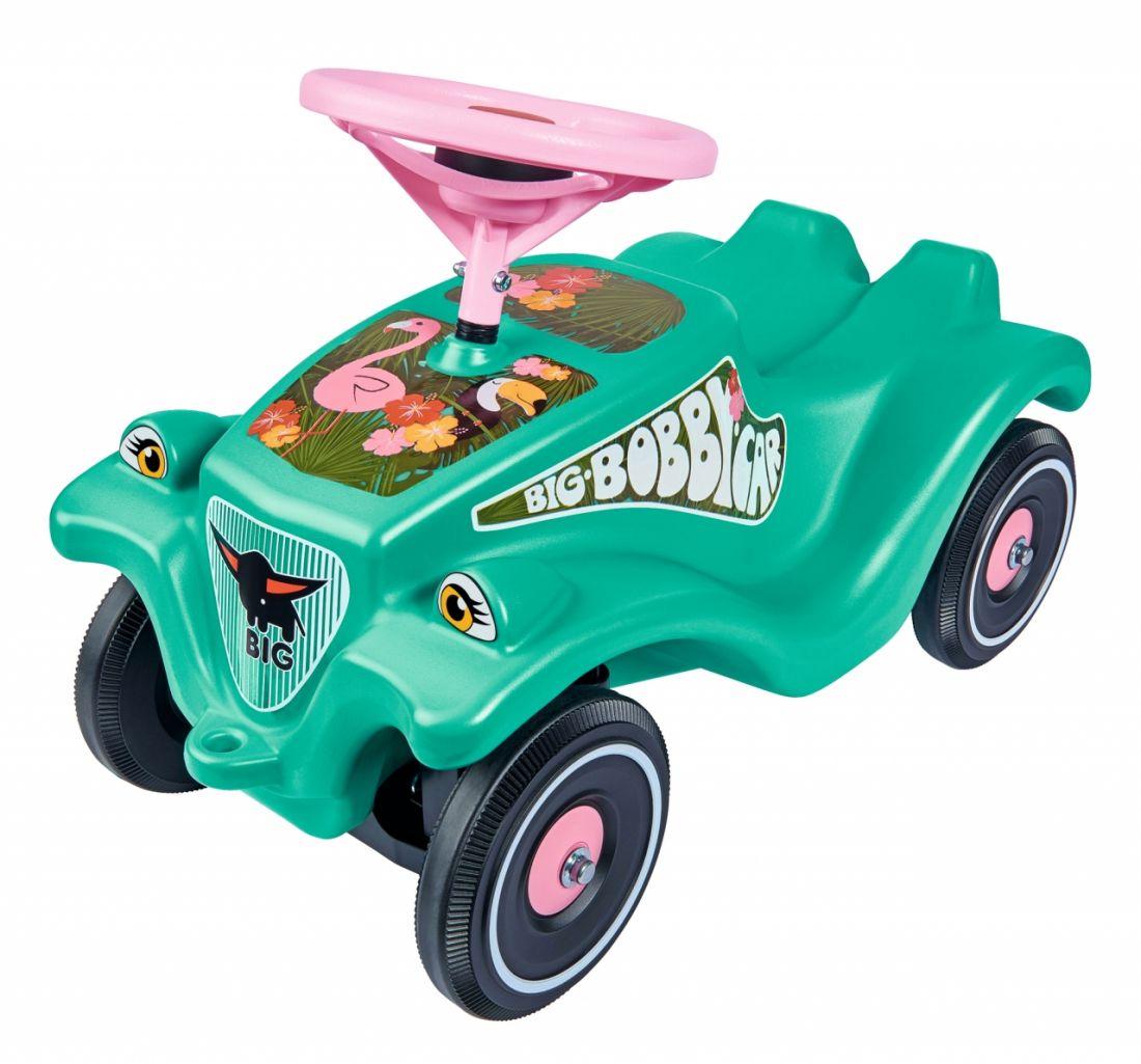 Каталка-толокар BIG 56118 Bobby Car Classic тропический фламинго