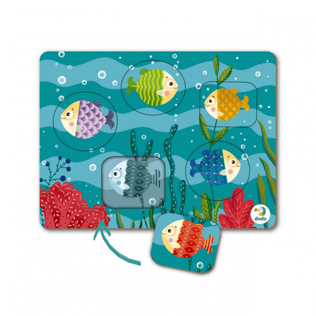 Развивающая игра DODO 300287 Рыбки