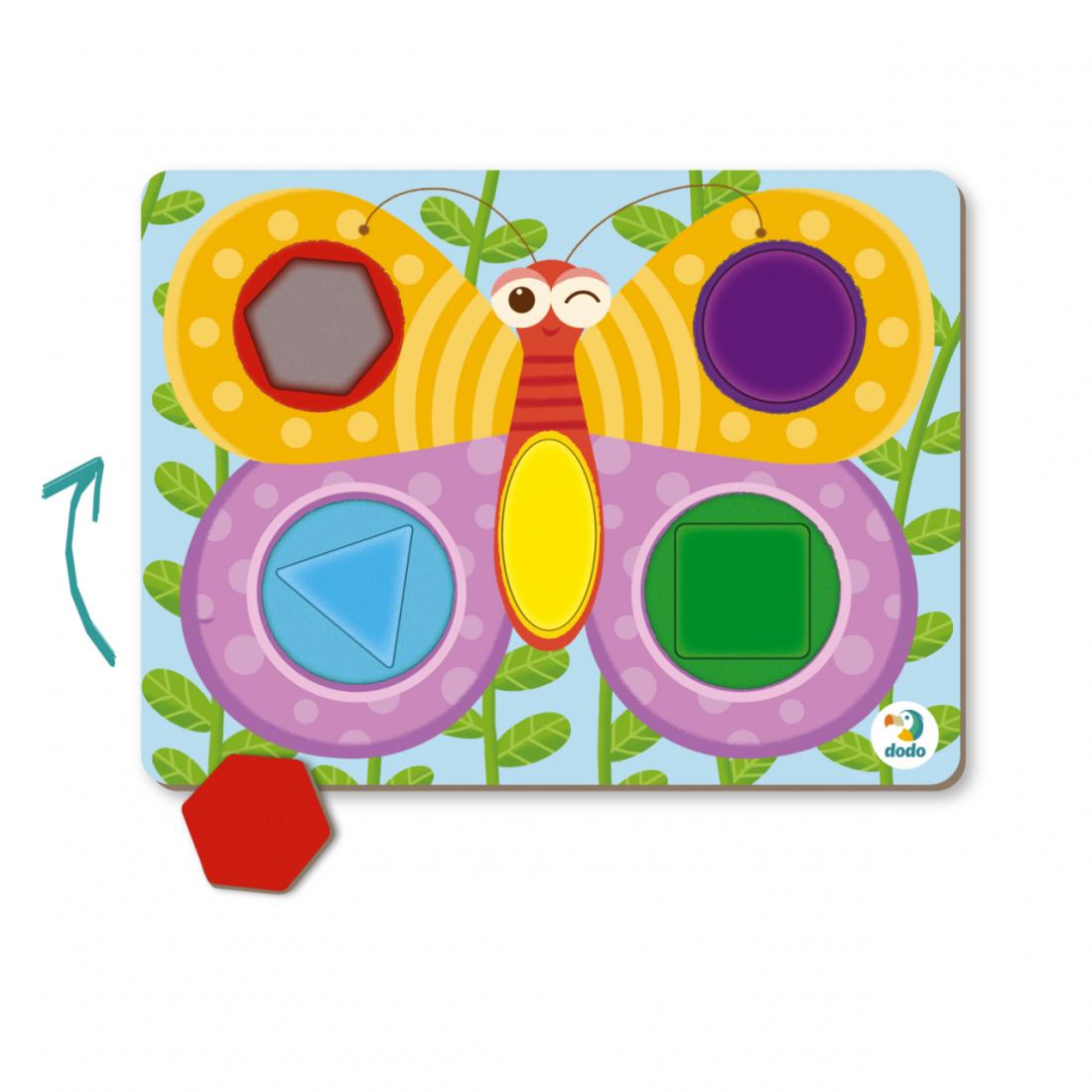 Развивающая игра DODO 300288 Бабочка