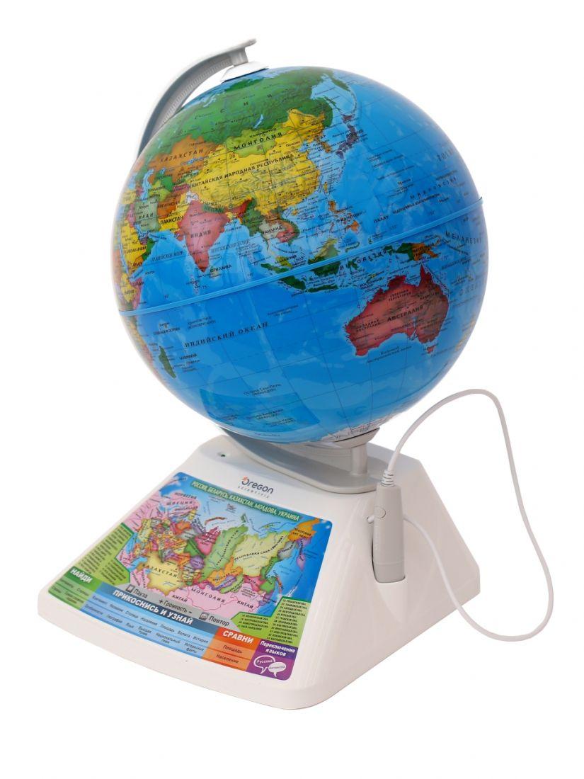 Глобус OREGON SCIENTIFIC SG268RX Интерактивный с дополненной реальностью
