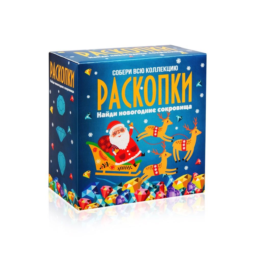 Набор РАСКОПКИ DIG-7 Новогодние сокровища
