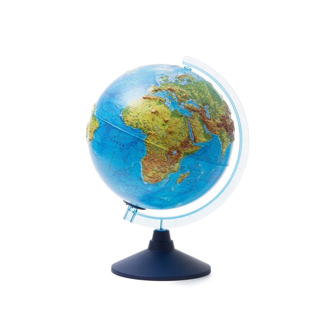 Глобус GLOBEN INT12500287 Интерактивный физико-политический рельефный с подсветкой (батарейки) 250