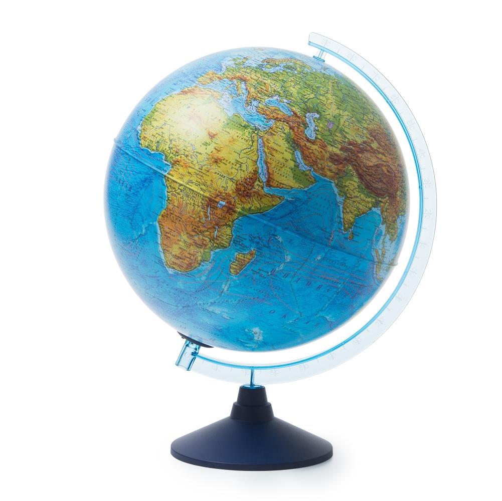 Глобус GLOBEN INT13200289 Интерактивный физико-политический с подсветкой (батарейки) 320