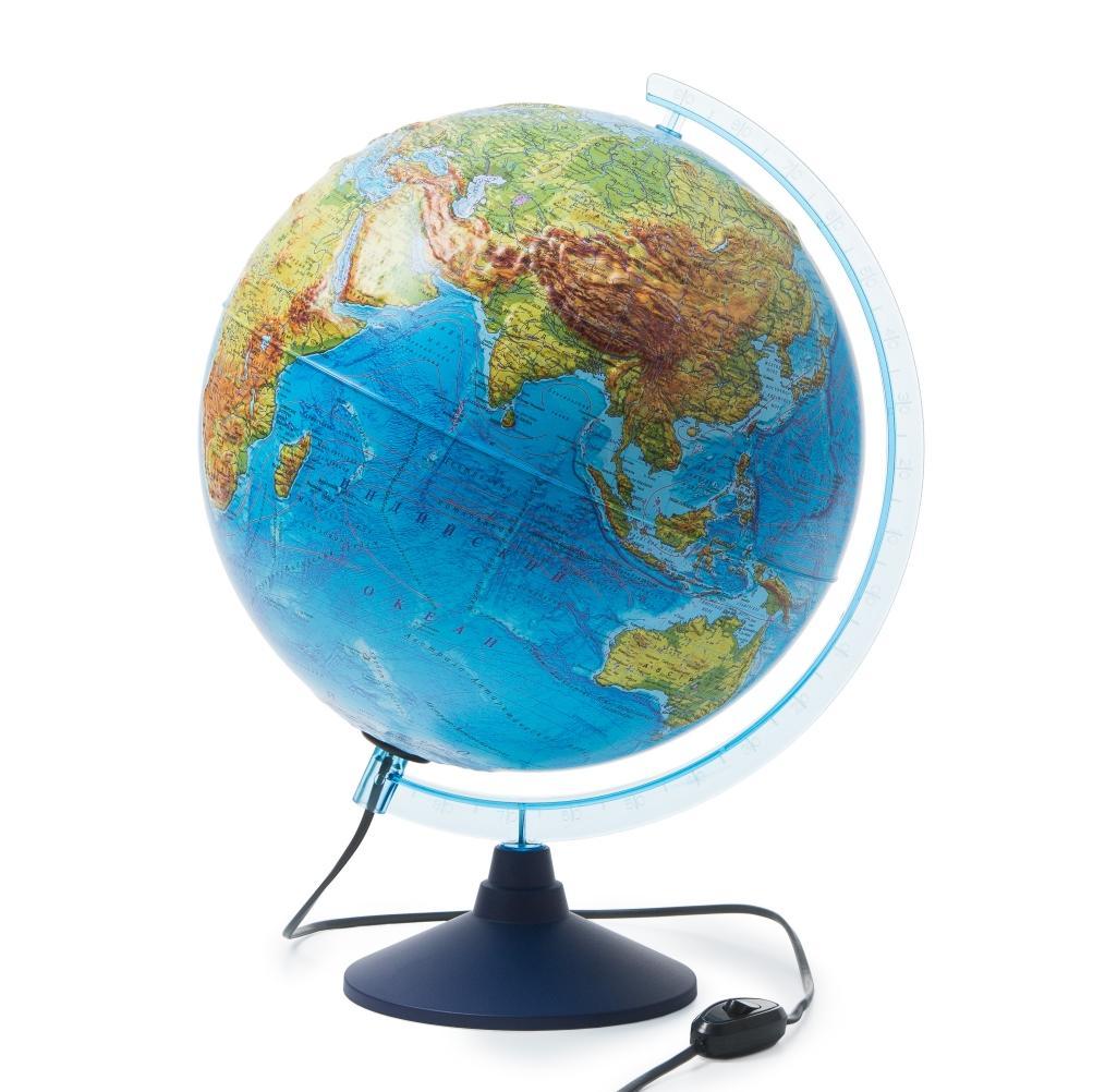 Глобус GLOBEN INT13200290 Интерактивный физико-политический с подсветкой рельефный 320 с очками VR