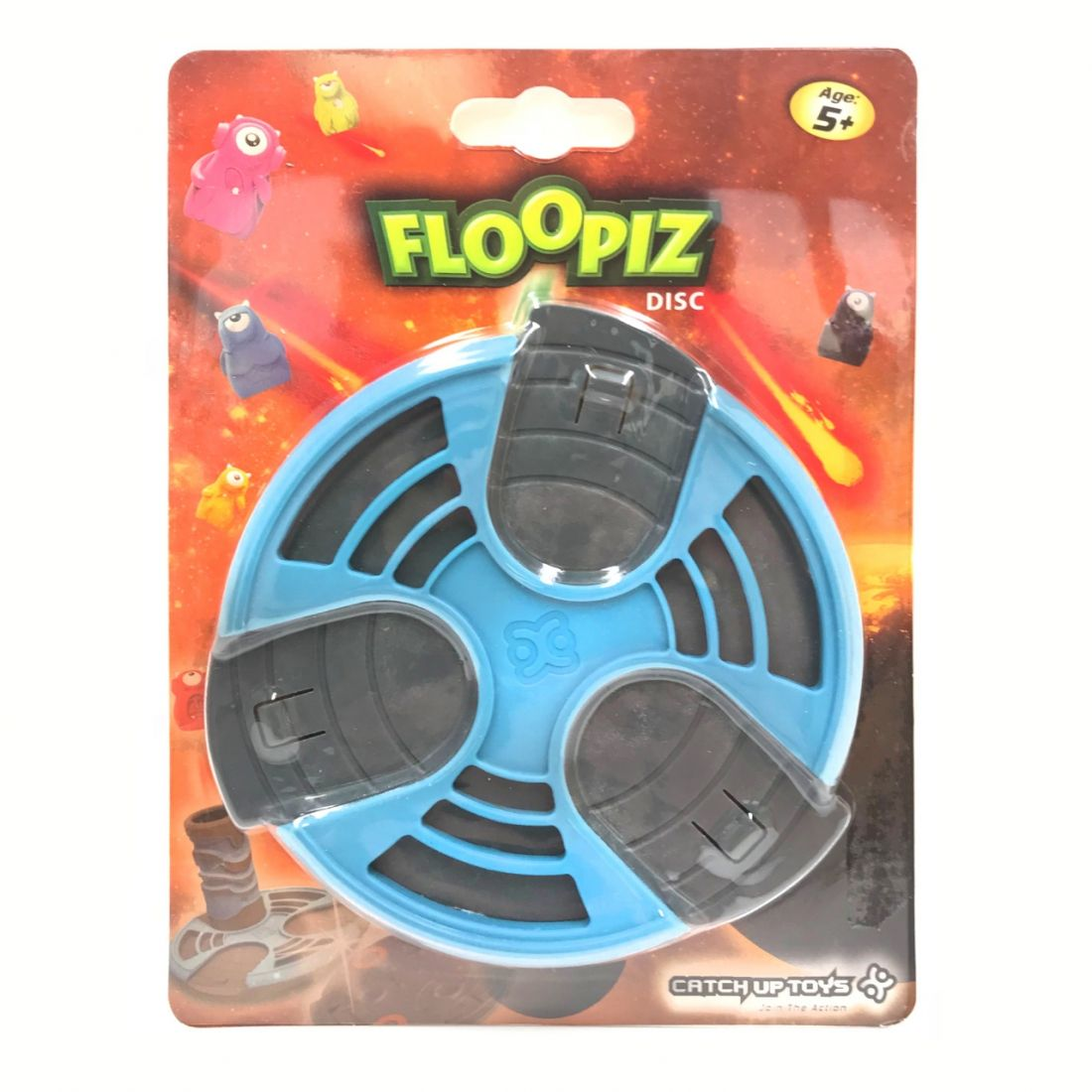 Доп. набор CATCHUP TOYS FP-004D-BLU Floopiz Disc (Blue)