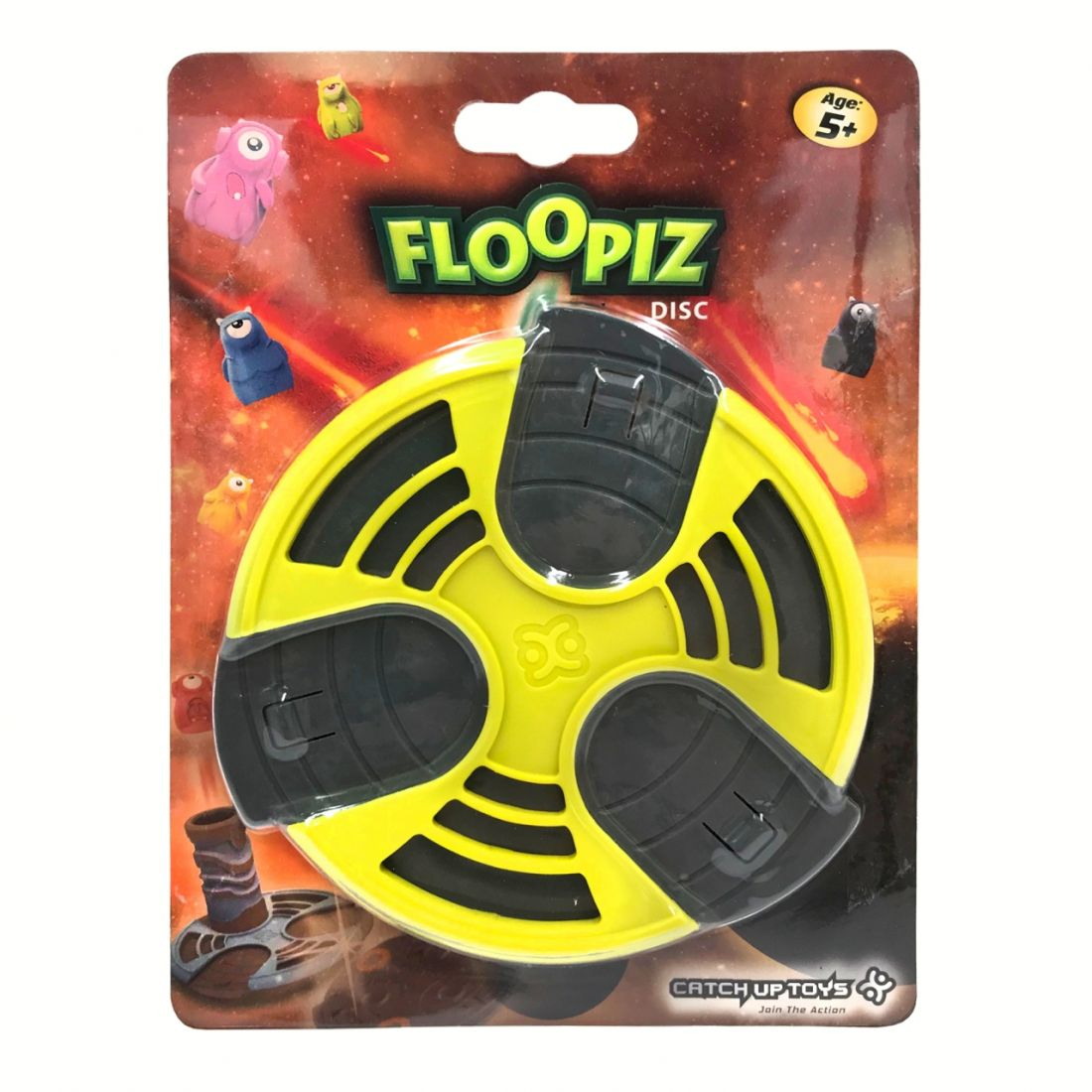 Доп. набор CATCHUP TOYS FP-004D-YEL Floopiz Disc (Yellow)