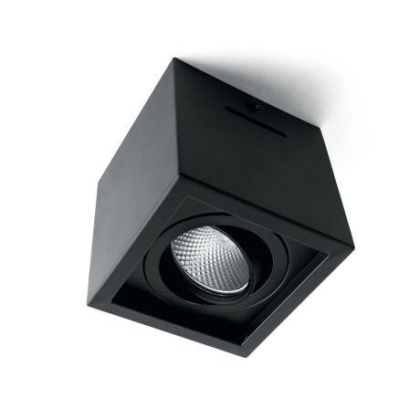 Светодиодный светильник Feron AL522 накладной 7W 4000K черный поворотный