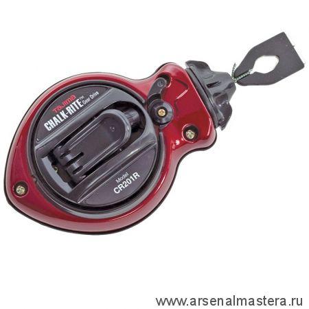 Разметочный отбивочный шнур Gear Drive TAJIMA 30 м CR201R