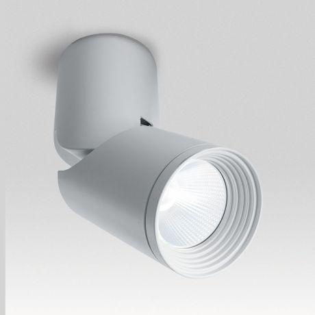Светодиодный светильник Feron AL517 накладной 10W 4000K белый наклонный